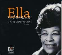 Ella Fitzgerald (1917-1996): Live At Chautauqua Vol.2, CD