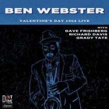 Ben Webster (1909-1973): Valentine's Day 1964, Live!, CD
