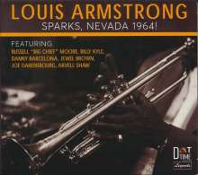 Louis Armstrong (1901-1971): Sparks, Nevada 1964!, CD