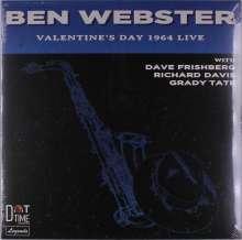 Ben Webster (1909-1973): Valentine's Day 1964 Live (Limited Numbered Edition), LP