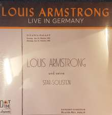 Louis Armstrong (1901-1971): Live In Germany 1952 (Limited Numbered Edition), LP