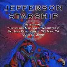 Jefferson Starship: Performing Jefferson Airplane At Woodstock, 12.6.2009, CD
