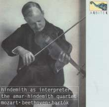 Armar-Hindemith Quartett - Hindemith as Interpreter, CD