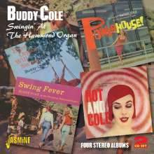 Buddy Cole: Swingin'At The Hammond Organ - Four Stereo Albums, 2 CDs