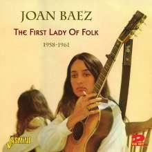 Joan Baez: The First Lady Of Folk, 2 CDs