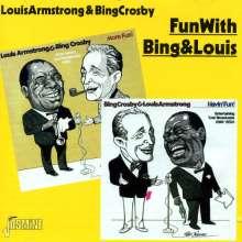 Louis Armstrong (1901-1971): Fun With Bing & Louis, CD