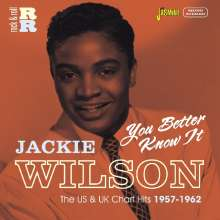 Jackie Wilson: You Better Know It, CD