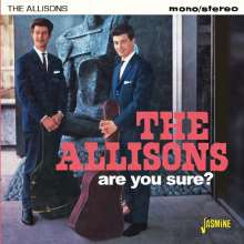 The Allisons: Are You Sure?, CD