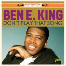 Ben E. King: Don't Play That Song, CD