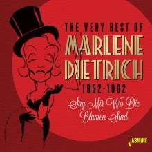 Marlene Dietrich: Sag mir wo die Blumen sind, CD