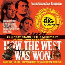Filmmusik: The Big Country / How The West Was Won, CD