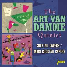 Art Van Damme (1920-2010): Cocktail Capers / More Cocktail Capers, CD