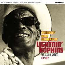 Sam Lightnin' Hopkins: Thinkin' & Worryin': The Aladdin Singles 1947 - 1952, CD