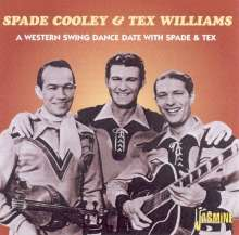 Spade Cooley & Tex Williams: A Western Swing Dance Date With Spade & Tex, CD