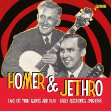 Homer & Jethro: Take Off Your Gloves And Play, CD