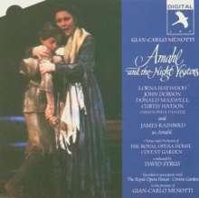 Gian-Carlo Menotti (1911-2007): Amahl And the Night Visitors, CD