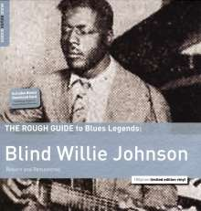 Blind Willie Johnson: The Rough Guide To Blues Legends: Blind Willie Johnson (remastered) (180g) (Limited Edition), LP