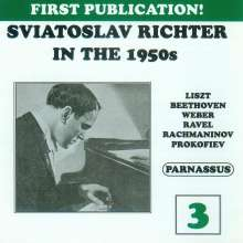 Svjatoslav Richter in the 1950s Vol.3, 2 CDs