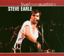 Steve Earle: Live From Austin, Tx, 12.09.1986, CD