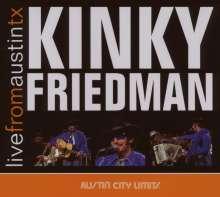 Kinky Friedman: Live From Austin, Tx, 11.11.1975, CD