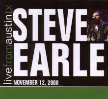 Steve Earle: Live From Austin, Tx, 2000, CD