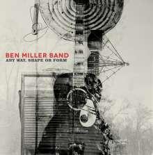Ben Miller: Any Way, Shape Or Form, CD