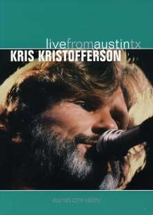 Kris Kristofferson: Live From Austin, Tx, 14.09.1981, DVD