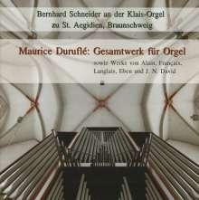 Maurice Durufle (1902-1986): Sämtliche Orgelwerke, 2 CDs