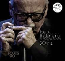 Toots Thielemans (1922-2016): 90 Yrs.: Live 2006 - 2011, 1 CD und 1 DVD