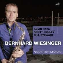 Bernhard Wiesinger: Notice That Moment, CD