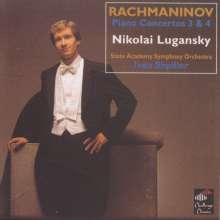 Sergej Rachmaninoff (1873-1943): Klavierkonzerte Nr.3 & 4, CD