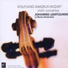 Wolfgang Amadeus Mozart (1756-1791): Violinkonzerte Nr.1-5, 2 CDs