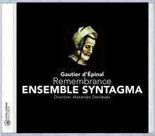 Ensemble Syntagma, CD
