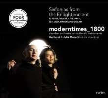 Moderntimes 1800 - Sinfonias from the Enlightenment, 2 CDs