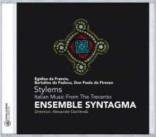 Stylems - Italian Music from the Trecento, CD