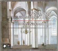 Johann Sebastian Bach (1685-1750): Sämtliche Kantaten Vol.8 (Koopman), 3 CDs