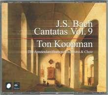 Johann Sebastian Bach (1685-1750): Sämtliche Kantaten Vol.9 (Koopman), 3 CDs
