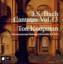 Johann Sebastian Bach (1685-1750): Sämtliche Kantaten Vol.13 (Koopman), 3 CDs