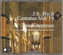 Johann Sebastian Bach (1685-1750): Sämtliche Kantaten Vol.19 (Koopman), 3 CDs
