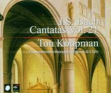 Johann Sebastian Bach (1685-1750): Sämtliche Kantaten Vol.21 (Koopman), 3 CDs