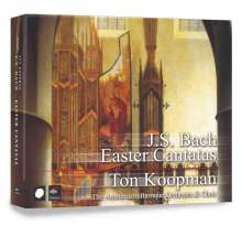 Johann Sebastian Bach (1685-1750): Kantaten BWV 4,6,31,66,134,145,158,182 (Osterkantaten), 2 CDs