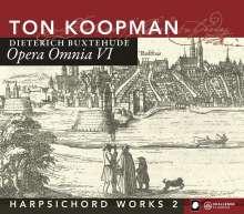 Dieterich Buxtehude (1637-1707): Opera Omnia VI (Cembalowerke 2), 2 CDs