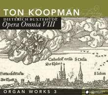 Dieterich Buxtehude (1637-1707): Opera Omnia VIII (Orgelwerke 3), CD