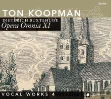 Dieterich Buxtehude (1637-1707): Opera Omnia XI (Vokalwerke 4), 2 CDs