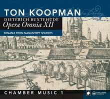 Dieterich Buxtehude (1637-1707): Opera Omnia XII (Kammermusik 1), CD