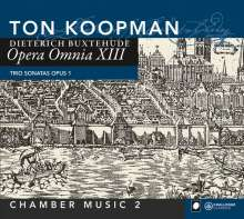 Dieterich Buxtehude (1637-1707): Opera Omnia XIII (Kammermusik 2), CD