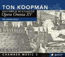 Dieterich Buxtehude (1637-1707): Opera Omnia XV (Kammermusik 3), CD