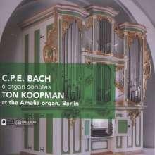 Carl Philipp Emanuel Bach (1714-1788): Orgelsonaten Wq.70 Nr.2-6, CD
