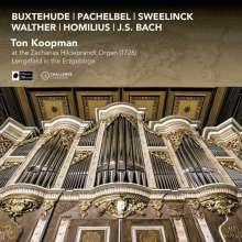 Ton Koopman an der Zacharias Hildebrandt Orgel Lengefeld, CD