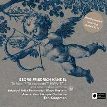 "Georg Friedrich Händel (1685-1759): Italienische Kantate HWV 171 ""Tu fedel! Tu costante?"", SACD"